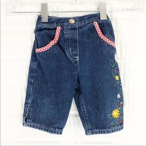 Disney Winnie the Pooh floral embroidered jeans